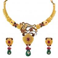 Manihari Antique Gold Set