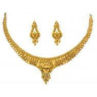 Rajasthani Darbar Gold Necklace