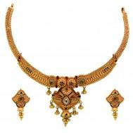 Kesar ki Kyari Gold Necklace