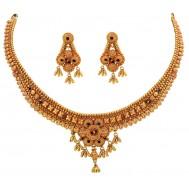 Kesariya Balam Gold Necklace
