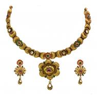 Rajputi Libaas Antique Gold Set
