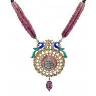 Vasant Bahaar Pendant Set