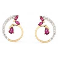 Rich Lavender Earrings
