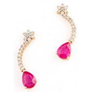 Tail Star Earrings