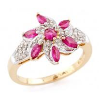 The Rosy Calamus Ring