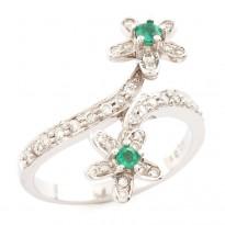 Twofold Jasmine Ring