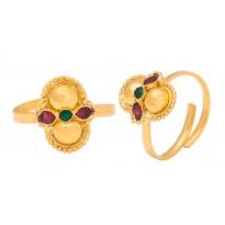Aashi Gold Foot Ring