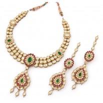 Ada - e - Noor Kundan Jewellery Set