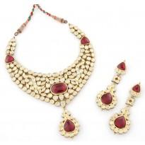 Dulhan Raas Kundan Jewellery Set