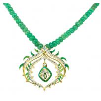 Vasant Malika Pendant Set