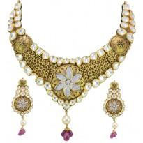 Gauhar Bani Antique Gold Set