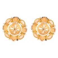 Embellishing Charisma Gold Studs