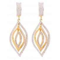 Enviable Trellis Diamond Earring