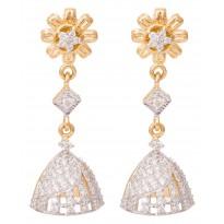 Floribunda Diamond Earring