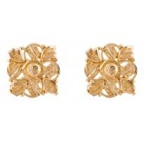 Exquisite Design Gold Studs