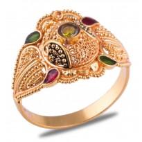 Bhavini Gold Ring