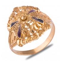 Hrudiya Gold Ring