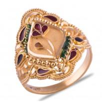 Pratichi Gold Ring