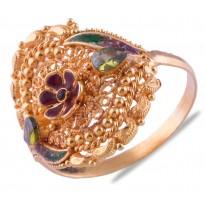 Rebha Gold Ring