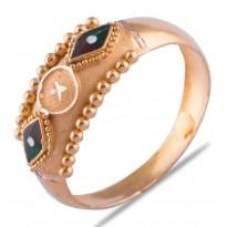 Hrutvi Gold Ring