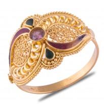 Simrit Gold Ring