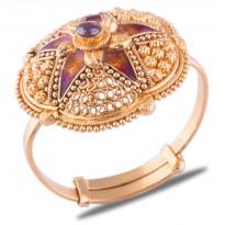 Anvita Gold Ring