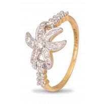 Bright Star Diamond Ring