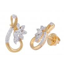 Twisted Flowery Earrings