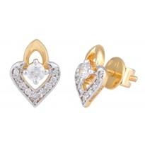 The Petal Heart Earrings