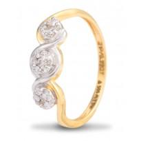 Ardent Triumvirate Diamond Ring