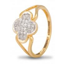 Peach Beauty Diamond Ring