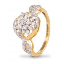 Spunky Diamond Ring