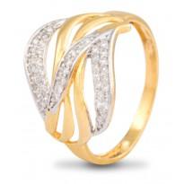 Captivating Aura Diamond Ring