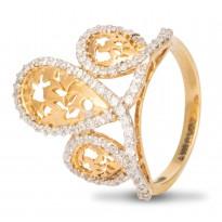 Royal Crown Diamond Ring