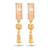 Luminous Gold Hoops