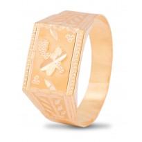 Enlivening Gold Ring For Men