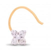 Vanquishing Diamond Nose Pin