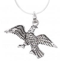 Flying Eagle Silver Pendant