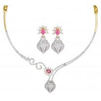 Mirthful Appetite Diamond Necklace