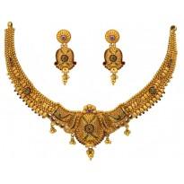Bride's Gold Hot Necklace