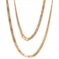 Unseen Design Gold Chain