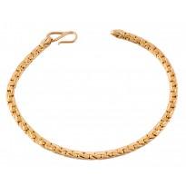 Persuasive Rivet Gold Bracelet