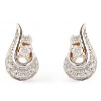 Diamond Spade Earrings