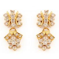 Golden Inara Earrings