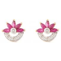 Valentine Star Earrings