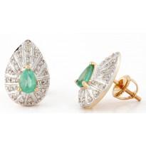 Pine Petiole Earrings